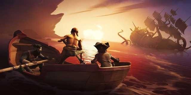 Sea of Thives: Ahój a makej