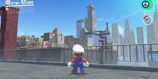 Super Mario Odyssey na Switch